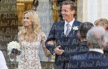 Král tenisových kurtů Tomáš Berdych! Tajná svatba za všechny prachy! Exkluzívní foto-reportáž z Monaka!