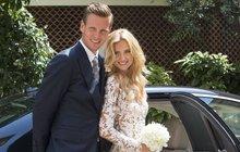 Tenista Berdych si tajně vzal svou krásnou Ester. Milionová svatba byla v Monaku!