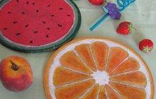 Ovocné podložky z korku od Jitky (52) ze Strakonic: Oživte si letní stůl!