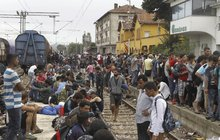 Obří vlna uprchlíků: 5000 běženců míří k Česku! Experti varují: Hrozí tu konflikty