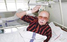Herec Lubomír Lipský (92) má zdravotní problémy! TŘETÍ BOJ O ŽIVOT!