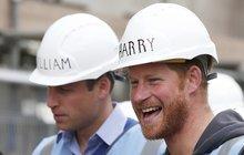 Princové William a Harry: Jako Pat a Mat!