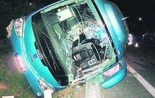 Děsivá nehoda na Vyškovsku: V autobuse bylo 13 zraněných a zasahoval i vrtulník!