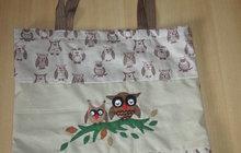 Vyrazte na nákupy jako Magda (38) z Klobouk u Brna: Ušijte si tašku se sovičkami!