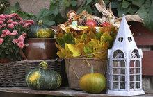 Co s plechovým kýblem? Inspirujte se podle Jany (52) z Hradce Králové: Vytvořte si podzimní zátiší!
