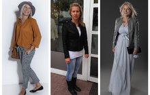 PROMĚNY našich čtenářek: Pro Moniku (40) z Pardubic byly dlouhé šaty její premiéra!