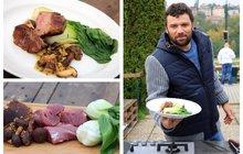 Vaříme cvalem s Michalem: Slavnostní oběd či večeře v podání kuchaře Michala? Panenka na houbách!