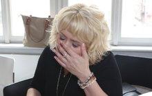 Sexbomba Miluška Bittnerová v slzách! Smrt blízkého ji dostala na kolena!