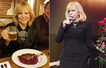 Foto jako důkaz! Hana Zagorová (69): Dala sbohem dietám!