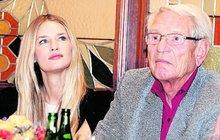 Vzácná návštěva z USA: Kráska Vojtová přijela za dědou!