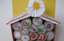 Ruličkový adventní kalendář: Zkuste to jako Jitka ze Strakonic, využijte ruličky od toaletního papíru!