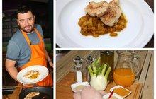 Vaříme cvalem s Michalem: Nestíháte vařit? Kuchař Michal připravil fantastickou rychlovku - Kuřecí prsa s fenyklem!