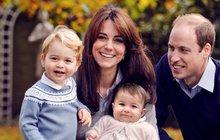Nový snímek královské rodiny odhalil i to, co nechtěla: Kate získává moc!