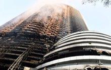 První fotky z interiéru dubajského hotelu: Tohle napáchal obří požár!