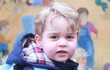 Vévodkyně Kate pyšná až na půdu: Copak je to za školáčka?