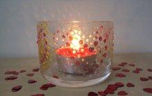 Svícínek pro romantiky: Valentýn se blíží, inspirujte se nápadem Diany (17) z Hradce Králové!