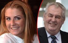 První dcera republiky Kate Zemanová: Tatínku dám ti vnouče…