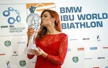 ŽENA TÝDNE: Biatlonistka Gabriela Soukalová převálcovala celý svět a má křišťálový glóbus!