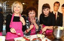 Hlavně tajně: Mlsná Boušková testovala dortíky!