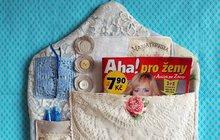 Aby bylo vše po ruce: Vyrobte si kapsář nejen na časopisy!
