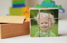 Tvoříme s fotkami kostky pro děti!