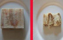 Šizuňkové! 100 gramů mražené ryby = 46 gramů masa