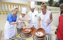 Březinová a Pizingerová na ostří nože: Potkaly se u plotny v Maroku!