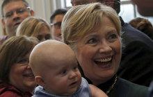 Hillary je podruhé babičkou!