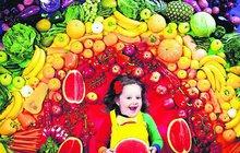 Ovoce vybírejte podle barev! Každá má jiné léčivé účinky!