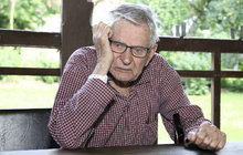 Herec Jan Skopeček (90): Zpověď plná vzteku na lidi! Šoupli mě do blázince!