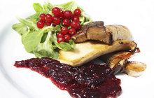 Vaříme cvalem s Michalem: Šéfkuchař připravil zdravou večeři - hlívu královskou s rybízovou omáčkou!