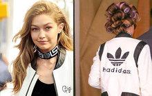 Kreativní modelka Gigi Hadid: Nosí HADIDasku!