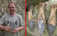 Řezník Tomáš Vidomus (42): Vyrábí si nože z pazourků!