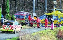 Chemický pokus na dětském táboře skončil nehodou: Čtyři kluci (8 až 12 let) se vážně popálili!