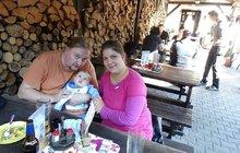 """Věru (32) ze Svitavska lékaři předem varovali, že se její dítě narodí postižené: """"O potratu jsem neuvažovala ani minutu!"""""""