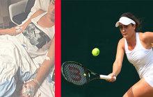 Z turnaje rovnou na JIP! Otrávili mladou tenistku?