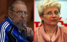Komunistka Rujbrová: Poslední Češka, která se potkala s Castrem (90)!
