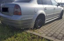 Vyjel bez pneumatiky!