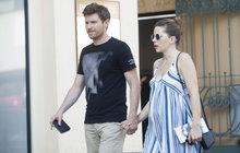 Hvězda seriálu Já, Mattoni bude podruhé tátou: Švehlíkova manželka už těhotenství neskryje!