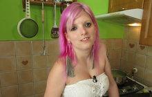 Žaneta (24) z Prostřeno!: Nevidí, nevychází ani z domu... Ale hostům navařila!