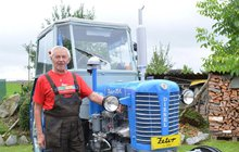 Václav Čapek (68) si splnil sen: Na důchod si pořídil traktor!