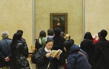 Mona Lisa v kůži přes Alpy!