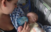 Chlapeček (1) nikdy nespatří maminku: Narodil se bez očí!