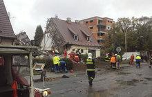 Po výbuchu plynu se zřítil dům v Kladně! Vyděšený soused: Ozvalo se žuchnutí a byl pryč