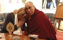 Setkání Dagmar s dalajlámou: Posmrtný dar Havlovi!