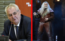 Dracula Dan Hůlka: Dostane metál od Zemana!
