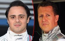 Massa promluvil o návštěvě Schumachera: Hrůza!
