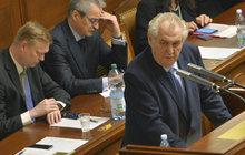 Prezident Zeman o Forejtovi v průšvihu: Jsem tolerantní...