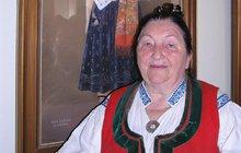Královna moravských lidovek Jarmila Šuláková (87): Syn jí umřel na AIDS!