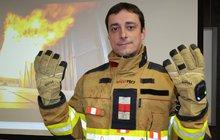 Tohle je »chytrý oblek« pro hasiče!